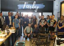 Открытие магазина Farby на проспекте мира 142